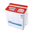 Red Glass Cover 6KG Twin Tub Washing Machine